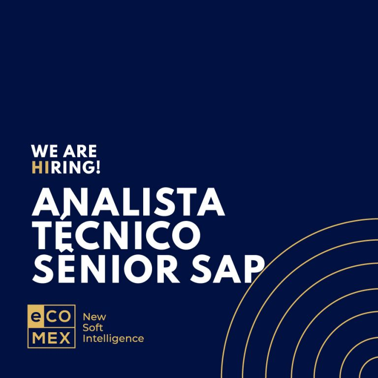 Analista Técnico Sênior – SAP